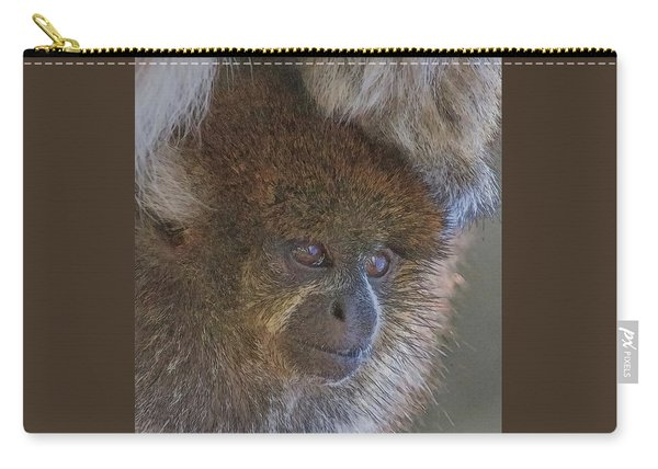 Bolivian Grey Titi Monkey Carry-all Pouch