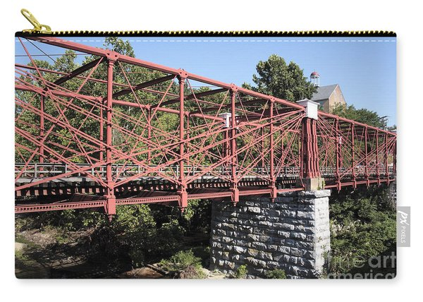 Bollman Truss Bridge At Savage In Maryland Carry-all Pouch