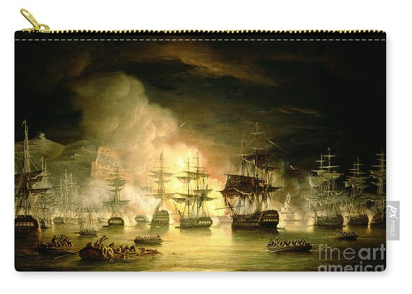 Bombardment Of Algiers Carry-all Pouch