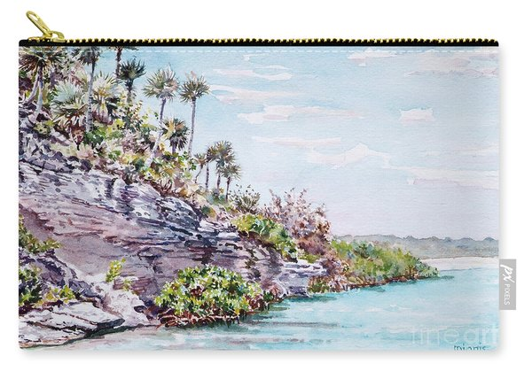 Bonefish Creek Watercolour Study Carry-all Pouch