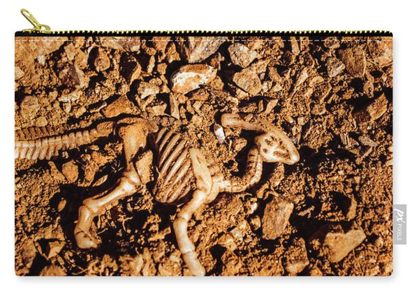 Bones From Ancient Times Carry-all Pouch