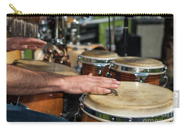 Bongo Hand Drums Carry-all Pouch