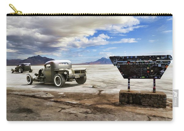 Bonneville Speedway Racers Carry-all Pouch