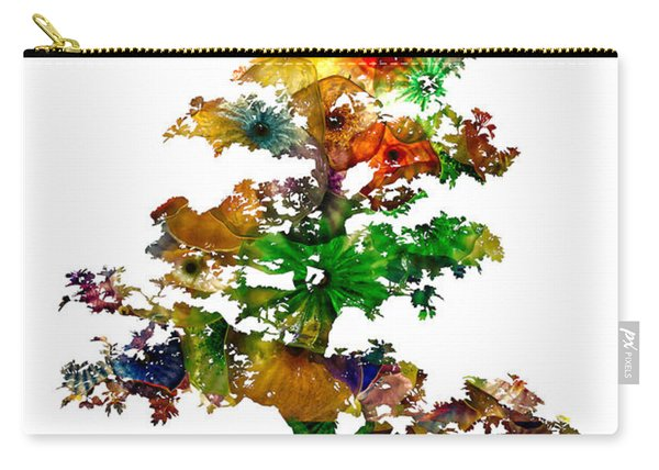 Carry-all Pouch featuring the photograph Bonsai by Michael Colgate