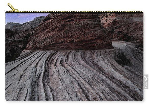 Bonzai In The Night Utah Adventure Landscape Photography By Kaylyn Franks Carry-all Pouch