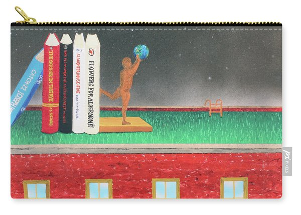 Books Of Knowledge Carry-all Pouch