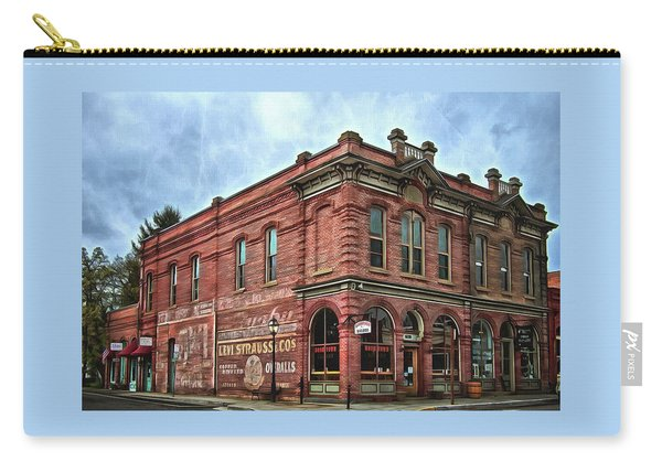 Boomtown Saloon Jacksonville Oregon Usa Carry-all Pouch