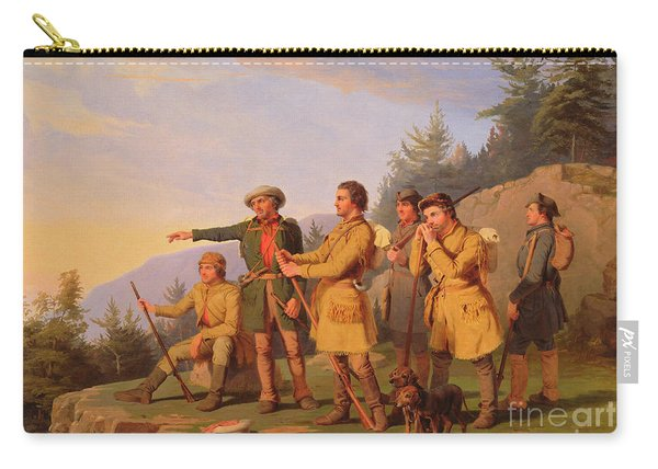 Boone's First View Of Kentucky Carry-all Pouch