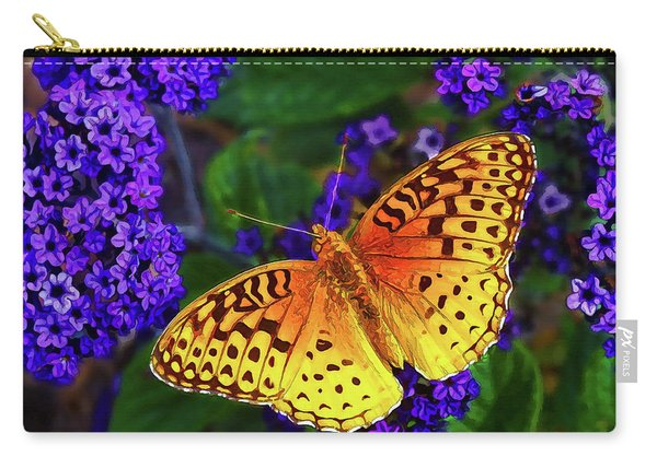 Boothbay Butterfly Carry-all Pouch