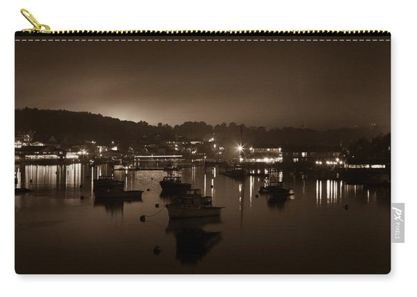 Boothbay Harbor At Night Carry-all Pouch