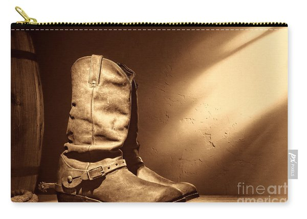 Boots At The Hacienda  Carry-all Pouch