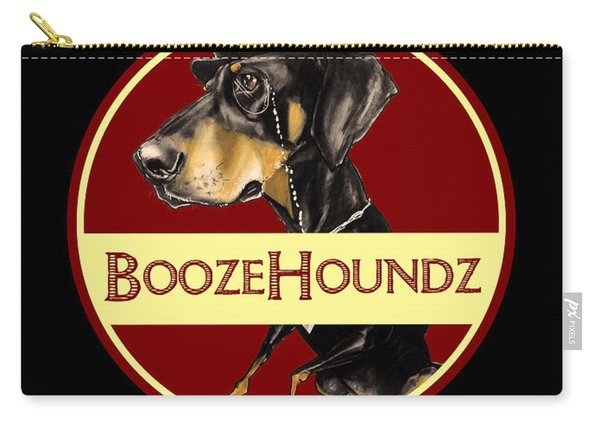 Boozehoundz Bottling Co. Carry-all Pouch