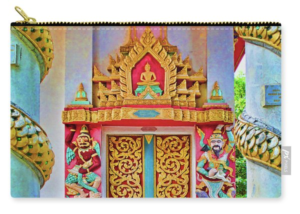 Bophut Temple In Thailand Carry-all Pouch