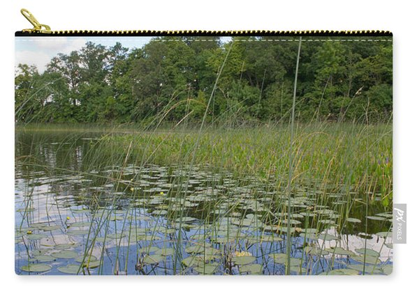 Borden Lake Lily Pads Carry-all Pouch
