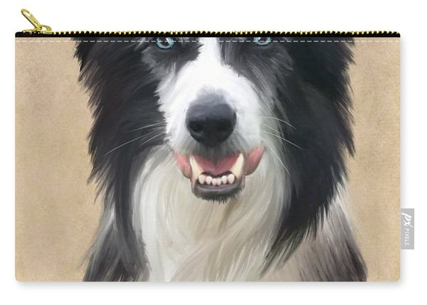 Border Collie Carry-all Pouch