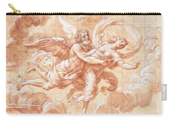 Boreas Abducting Oreithyia  Carry-all Pouch