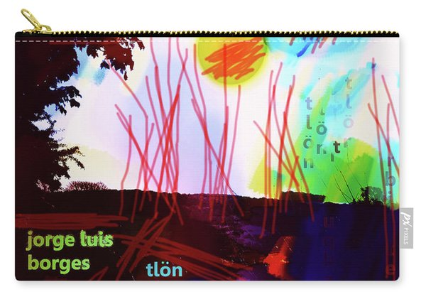 Borges Tlon Poster 2 Carry-all Pouch