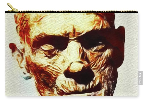 Boris Karloff As The Mummy Carry-all Pouch