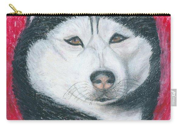 Boris The Siberian Husky Carry-all Pouch