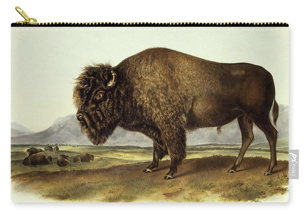 Bos Americanus, American Bison Carry-all Pouch