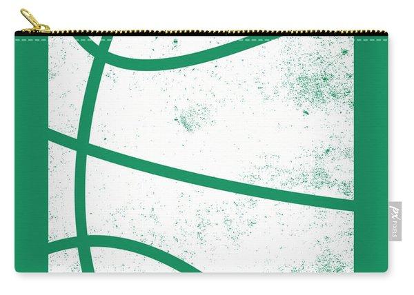 Boston Celtics City Poster Art 2 Carry-all Pouch