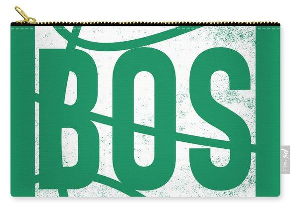 Boston Celtics City Poster Art Carry-all Pouch