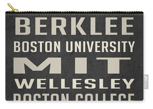 Boston Colleges Poster Carry-all Pouch