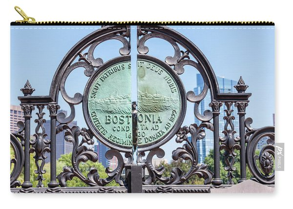 Boston Garden Gate Detail Carry-all Pouch