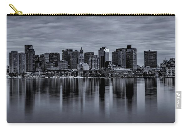 Boston In Monochrome Carry-all Pouch