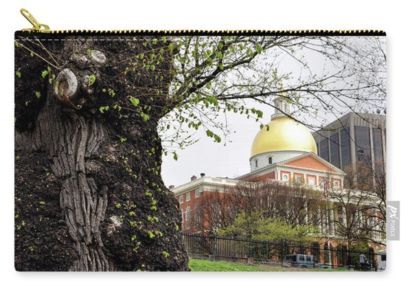 Boston Ma State House From Afar Carry-all Pouch