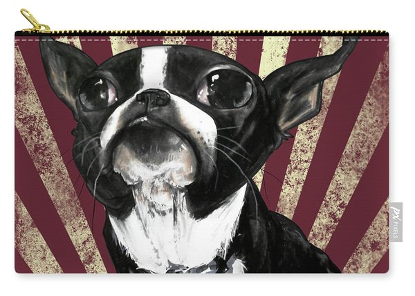 Boston Terrier Revolution Carry-all Pouch