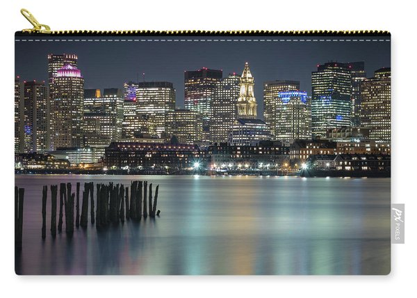 Boston's Skyline From Lopresti Park Carry-all Pouch