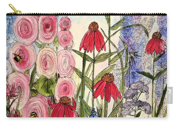 Botanical Wildflowers Carry-all Pouch