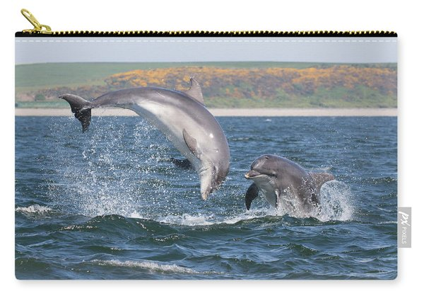 Bottlenose Dolphin - Moray Firth Scotland #49 Carry-all Pouch
