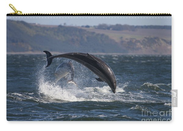 Bottlenose Dolphins - Scotland  #25 Carry-all Pouch