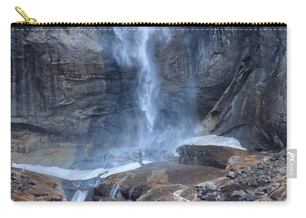 Bottom Part Of Upper Yosemite Waterfall Carry-all Pouch