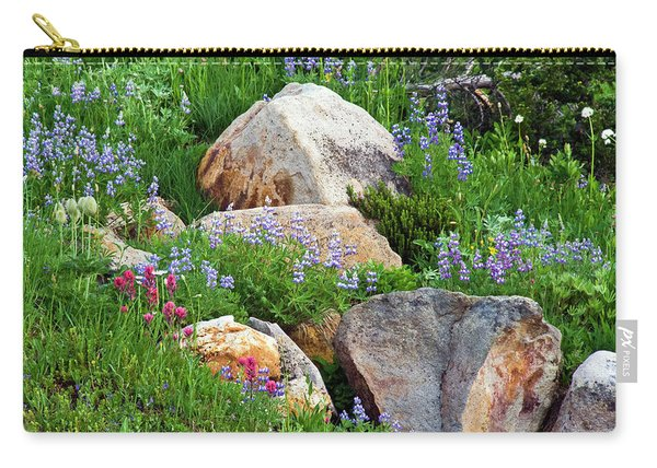 Boulder Blooms Carry-all Pouch