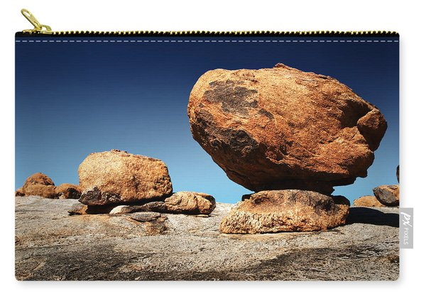 Boulder On Solid Rock Carry-all Pouch