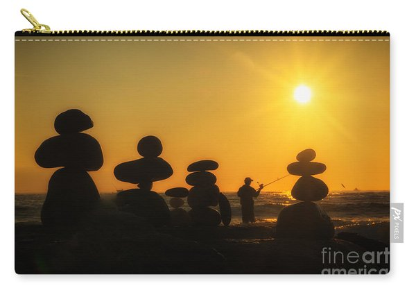 Boulders By The Sea Carry-all Pouch