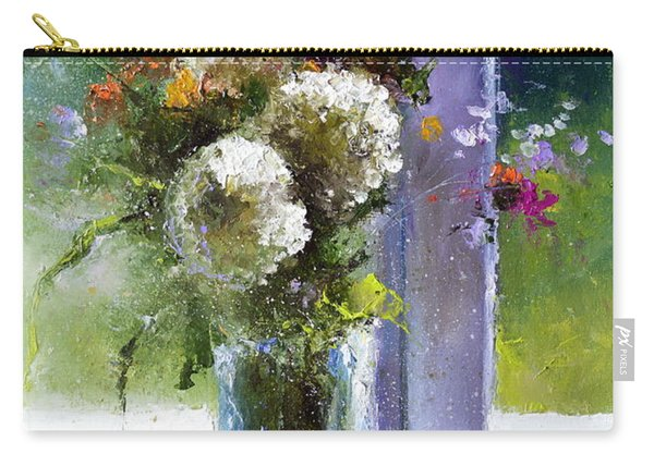 Bouquet At Window Carry-all Pouch
