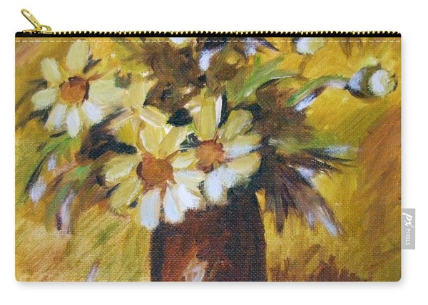 Bouquet Flowers Of Gold Carry-all Pouch
