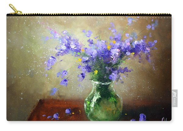 Bouquet Of Bluebells Carry-all Pouch