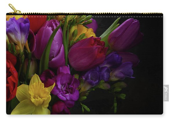 Flowers Dutch Style Carry-all Pouch