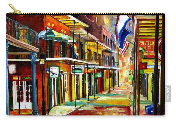 Bourbon Street Lights Carry-all Pouch