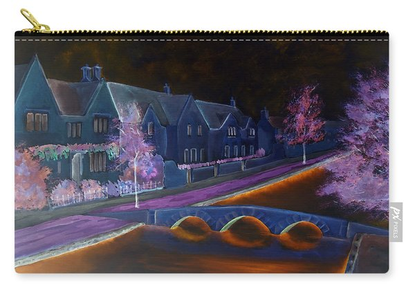 Bourton At Night Carry-all Pouch