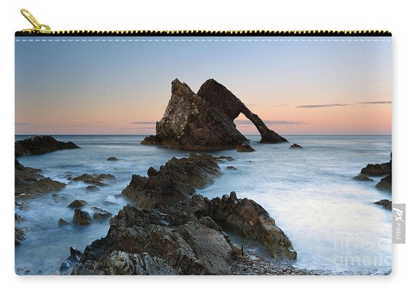 Bow Fiddle Rock At Sunset Carry-all Pouch