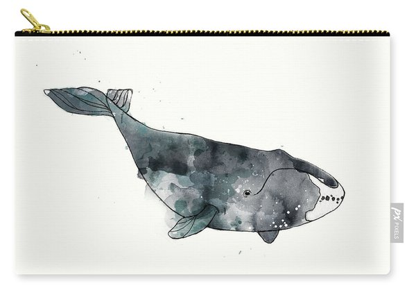 Bowhead Whale From Whales Chart Carry-all Pouch