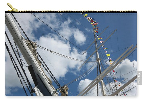 Bowsprit And Flags Carry-all Pouch