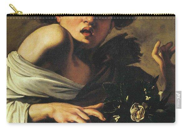 Boy Bitten By A Lizard, 1596 To 97 Carry-all Pouch