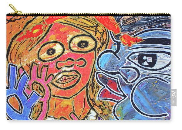 Boy Meets Girl Carry-all Pouch